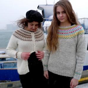 Gamaldags pull lopi traditionnel islandais - lopapeysa (1)