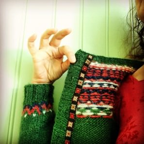 Gamaldags vert - pull lopi traditionnel islandais - lopapeysa