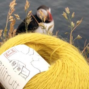 Gilitrutt Tvíband, 100% pure laine d'agneau islandais, fil dentelle retors, 2 brins (2)