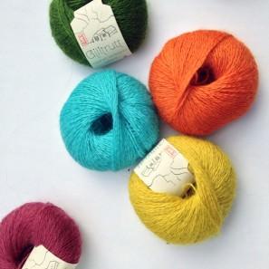 Gilitrutt Tvíband, 100% pure laine d'agneau islandais, fil dentelle retors, 2 brins (9)