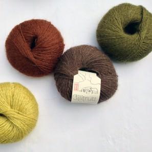 Gilitrutt Tvíband, 100% pure laine d'agneau islandais, fil dentelle retors, 2 brins (8)
