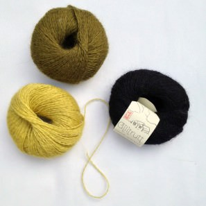 Gilitrutt Tvíband, 100% pure laine d'agneau islandais, fil dentelle retors, 2 brins (5)