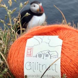 Gilitrutt Tvíband, 100% pure laine d'agneau islandais, fil dentelle retors, 2 brins (11)