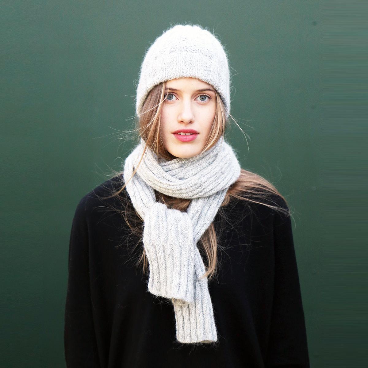 KBG08 hat scarf